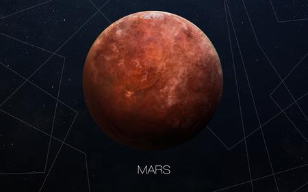 planeten: Mars - Hochauflösende Bilder präsentiert Planeten des Sonnensystems.