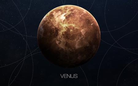 planeten: Venus - Hochauflösende Bilder präsentiert Planeten des Sonnensystems. Lizenzfreie Bilder