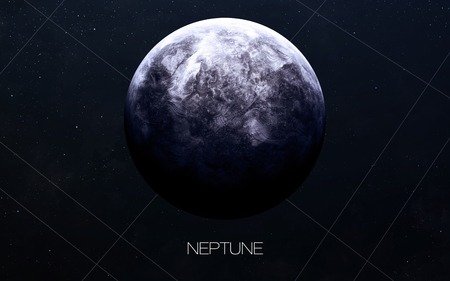 Neptune - High resolution images presents planets of the solar system.
