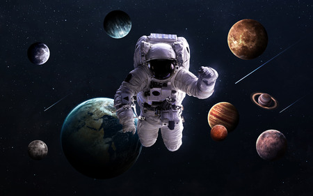 Des images haute résolution présente des planètes du système solaire.