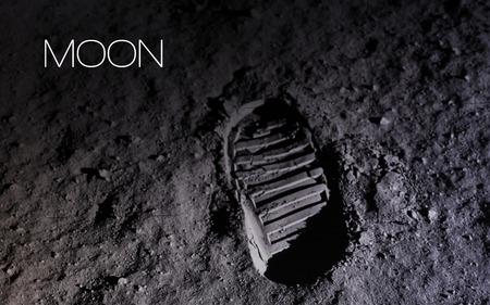 月 - 高解像度の画像は、太陽系の惑星を提示します。