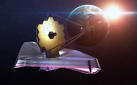 probe: James Webb Space Telescope. Stock Photo