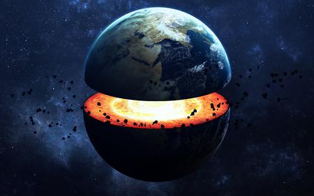 地球コアの構造