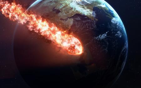 떨어지는 유성 비. 공간, 유성, 에너지, 소행성 빛에 혜성은 강력한 스타로 이동 스톡 콘텐츠 - 52310070
