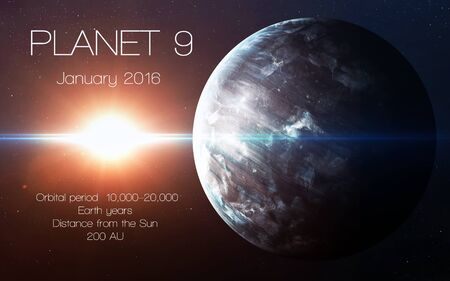 giant: Ninth planet of the solar system opened. New gas giant.