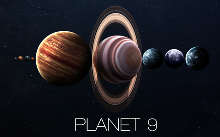ninth: Ninth planet of the solar system opened. New gas giant