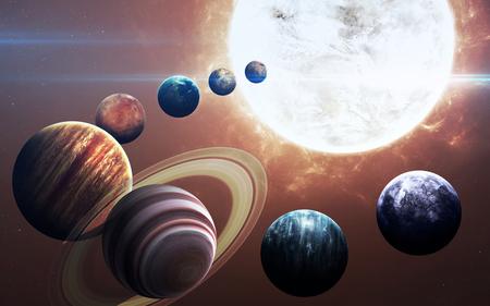Negende planeet van het zonnestelsel geopend. Nieuwe gasreus.