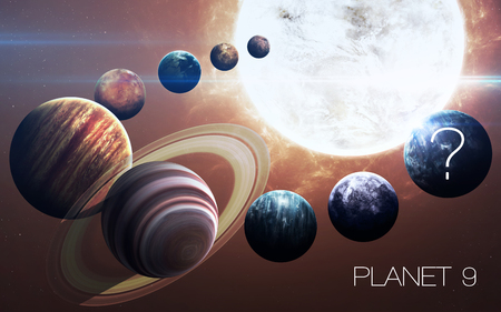 Ninth planet of the solar system opened. New gas giant.