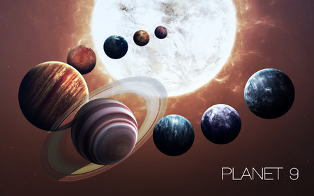 cosmos: Ninth planet of the solar system opened. New gas giant.