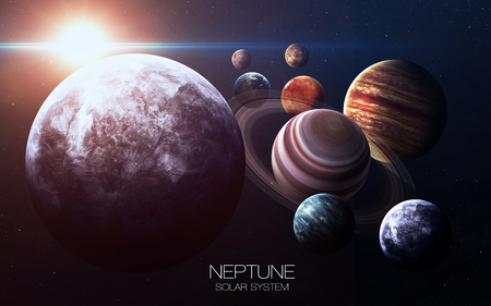 neptune: Neptune - High resolution images presents planets of the solar system. T