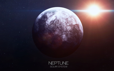 our: Neptune - High resolution images presents planets of the solar system.