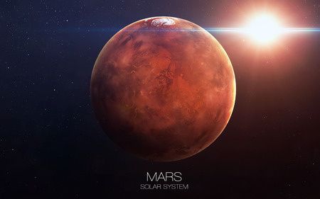 our: Mars - High resolution images presents planets of the solar system.