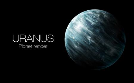 uranus: Uranus - High resolution 3D images presents planets of the solar system.