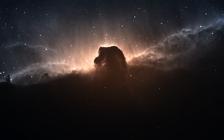 The Horsehead Nebula. Banque d'images