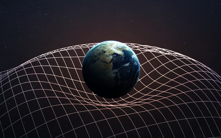 gravitational: Gravitational Waves illustration.