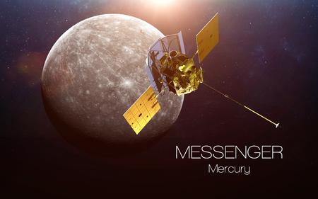Mercury - Messenger spacecraft.
