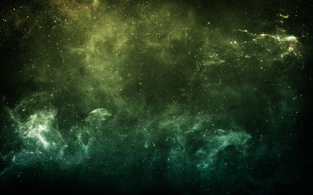 astrophotography: Starfield in deep space many light years far from the Earth.