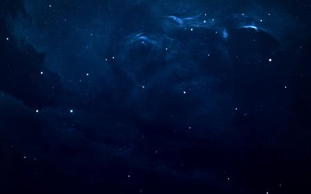 fondos azules: Starfield en el espacio profundo a muchos años luz lejos de la Tierra.