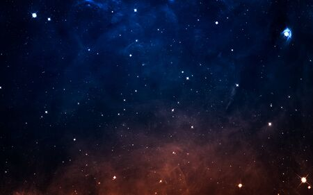 milky: Starfield in deep space many light years far from the Earth.