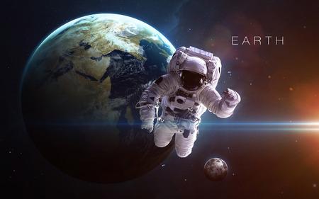 system: Tierra - de alta resolución de imágenes en 3D presenta planetas del sistema solar.