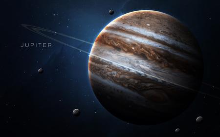 kepler: Jupiter - High resolution 3D images presents planets of the solar system.