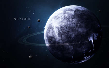 kepler: Neptune - High resolution 3D images presents planets of the solar system.