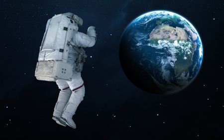 kepler: Astronaut in outer space.