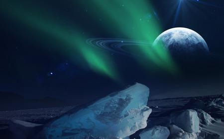 neptuno: Vista de Neptuno Trit�n.