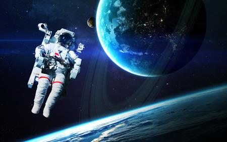 Astronaut deep space.