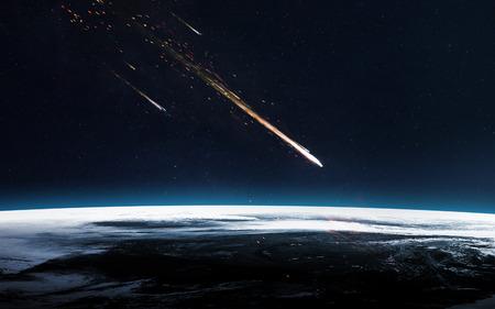 流星群。 写真素材 - 69342906