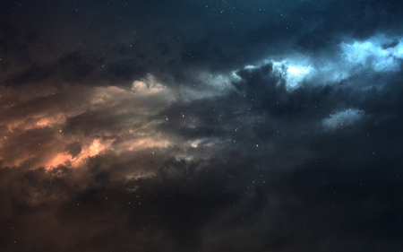 Nebula an interstellar cloud of star dust . Deep space image, science fiction fantasy in high resolution ideal for wallpaper and print. Reklamní fotografie