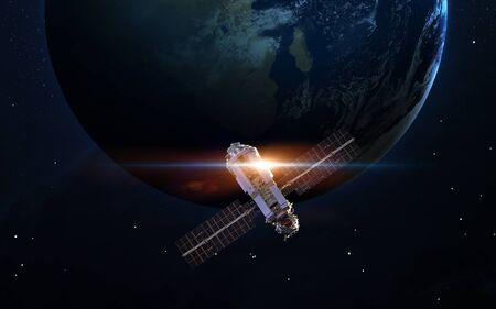 Spacecraft Launch Into Space