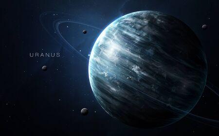 Uranus - High resolution Foto de archivo