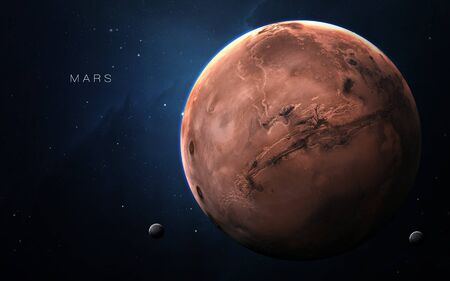 Mars - High resolution