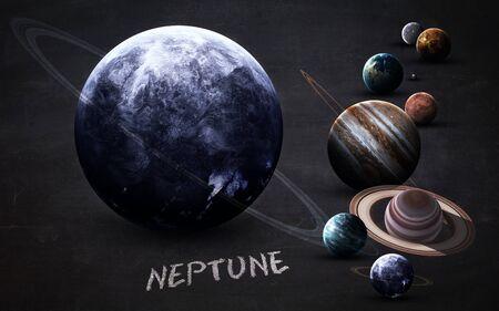 Neptune - High resolution Standard-Bild