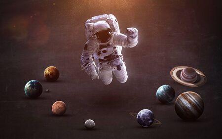 Planets of the solar system Standard-Bild
