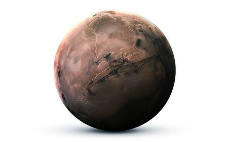 Mars - Haute résolution Banque d'images