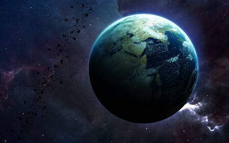 Earth - High resolution Banque d'images