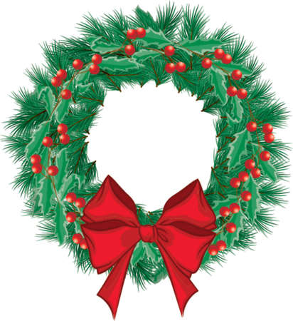 holiday: Christmas Wreath