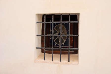 lattice window: An ancient window with a lattice