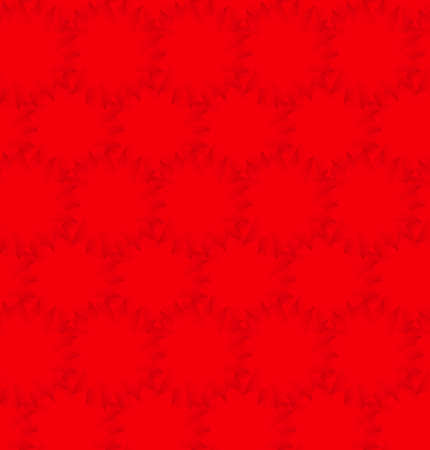 Dark red light triangle circle background. Vector