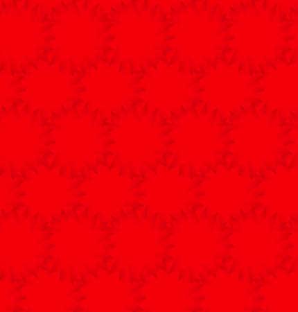 semaforo rosso: Rosso scuro triangolo luce sfondo cerchio. Vettoriali