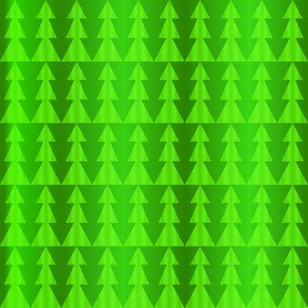 抽象的なクリスマス緑の松のパターン。