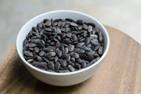 colic: Riang seeds to taste it claims colic appetite Stock Photo