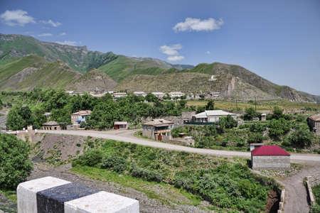 Eastern part of Kurah village in summer Daghestan Russia Stock Photo - 7500582