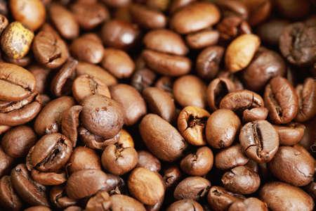 coffee crop: Roasted coffee crop Stock Photo
