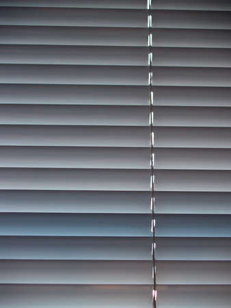 Detail of a window roller blind photo