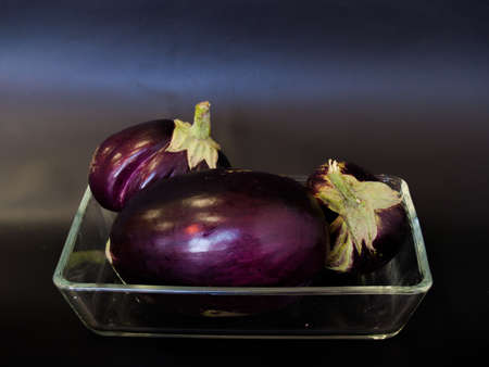 eggplant in a dish
