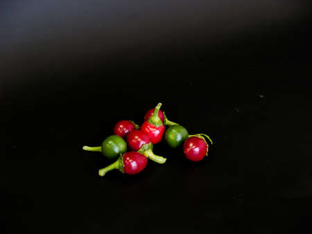 tiny round peppers