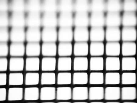 abstract black and white grid, net texture